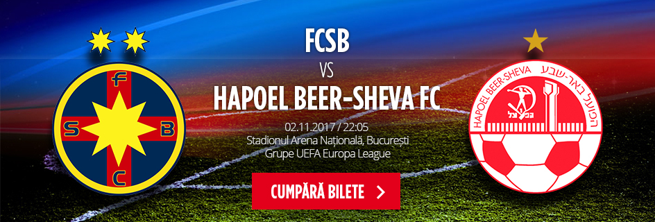 FCSB - Hapoel Be'er Sheva